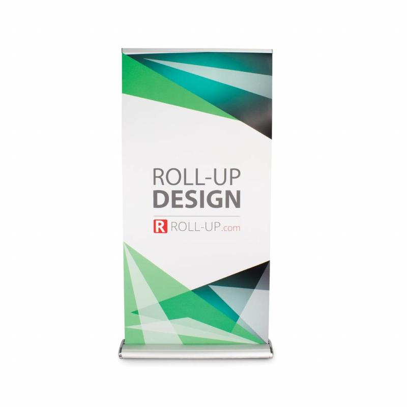 Roll up fronte-retro deluxe 100x200 cm