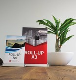 The roll up mini is an ideal eyecatcher on a small scale - 10 Pieces