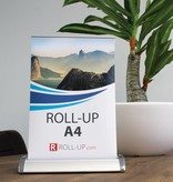 Roll up mini A4 - 10 stykke