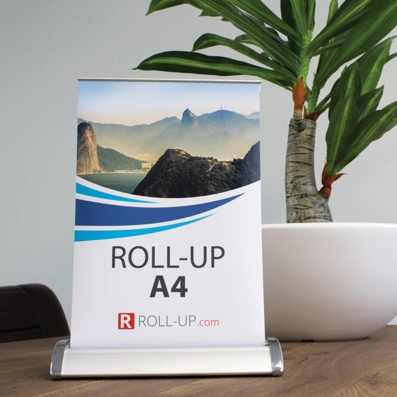 Roll up mini A4 - 10 Pièces