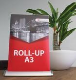 Roll up mini A3 - 10 stykke