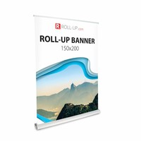 Roll up deluxe 150x200