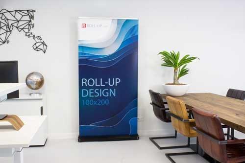 Voordelen van roll-up banners voor uw bedrijf
