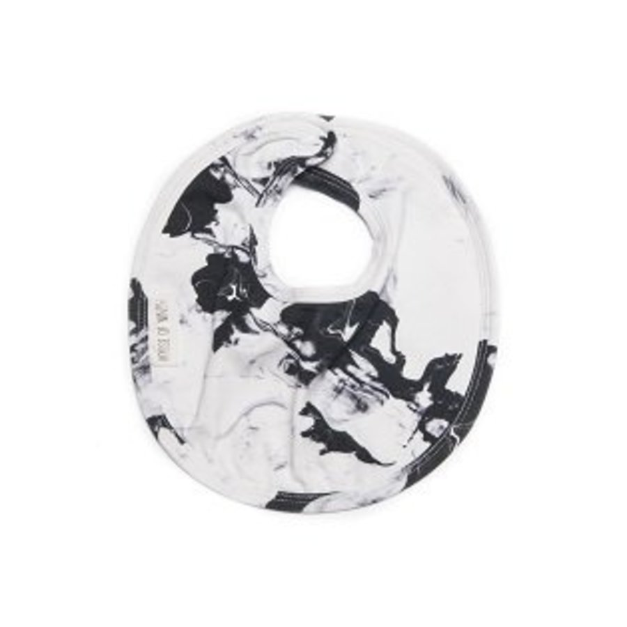 House of Ninoh Bib Paintmix Marble-1