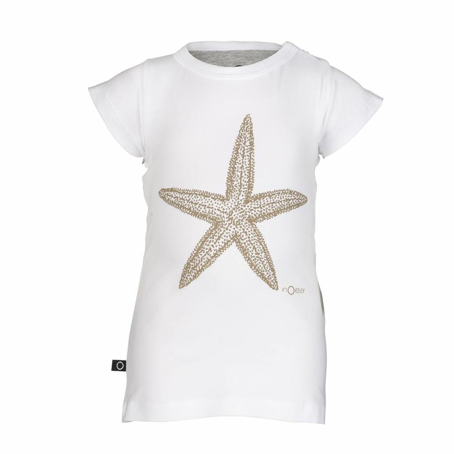 nOeser Ted Tee Frill Star Wit-1