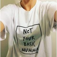 thumb-Cribstar T-shirt Not Your Basic Mumma - wit-3