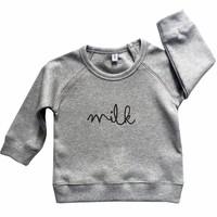 thumb-Organic Zoo Sweatshirt MILK Grijs-3