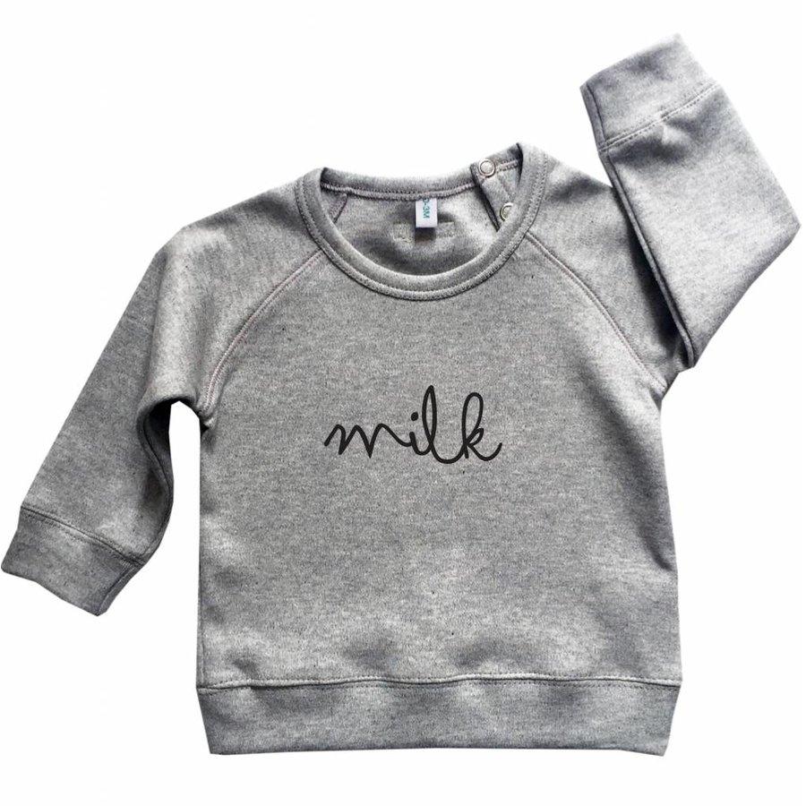 Organic Zoo Sweatshirt MILK Grijs-3