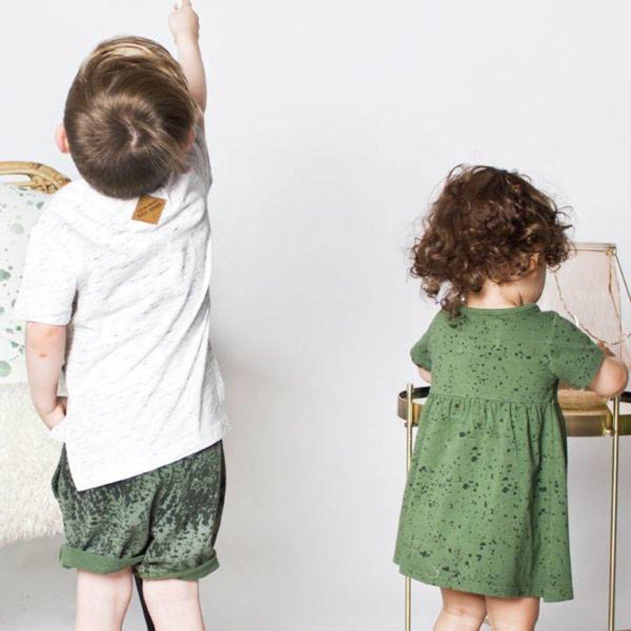 Little Indians World Short Groen-2