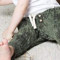 thumb-Little Indians World Broek Loden Green-2