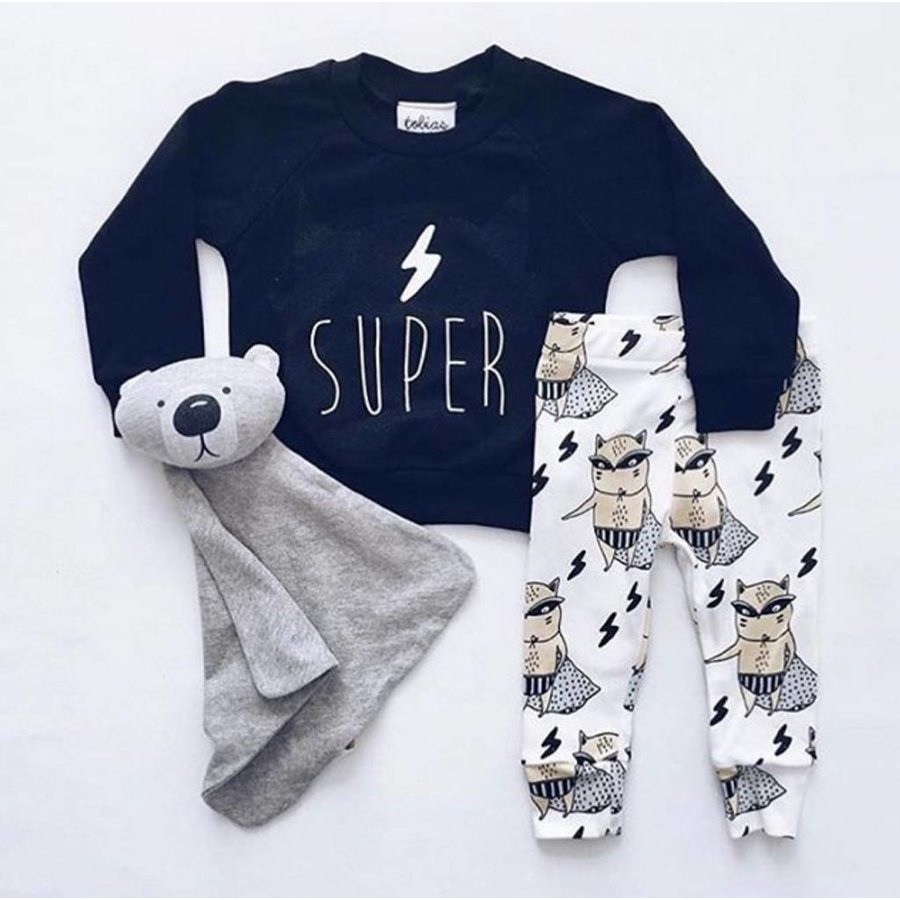 Tobias & The Bear Sweatshirt The Super Pets-2