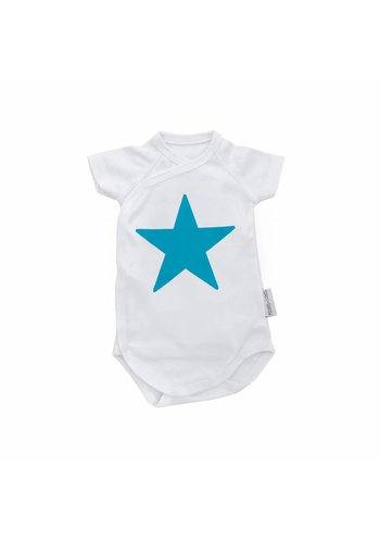 Blue Star Romper