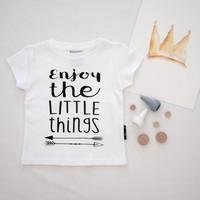 thumb-Aster & Oak T-shirt Enjoy The Little Things-4
