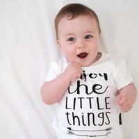 thumb-Aster & Oak T-shirt Enjoy The Little Things-2