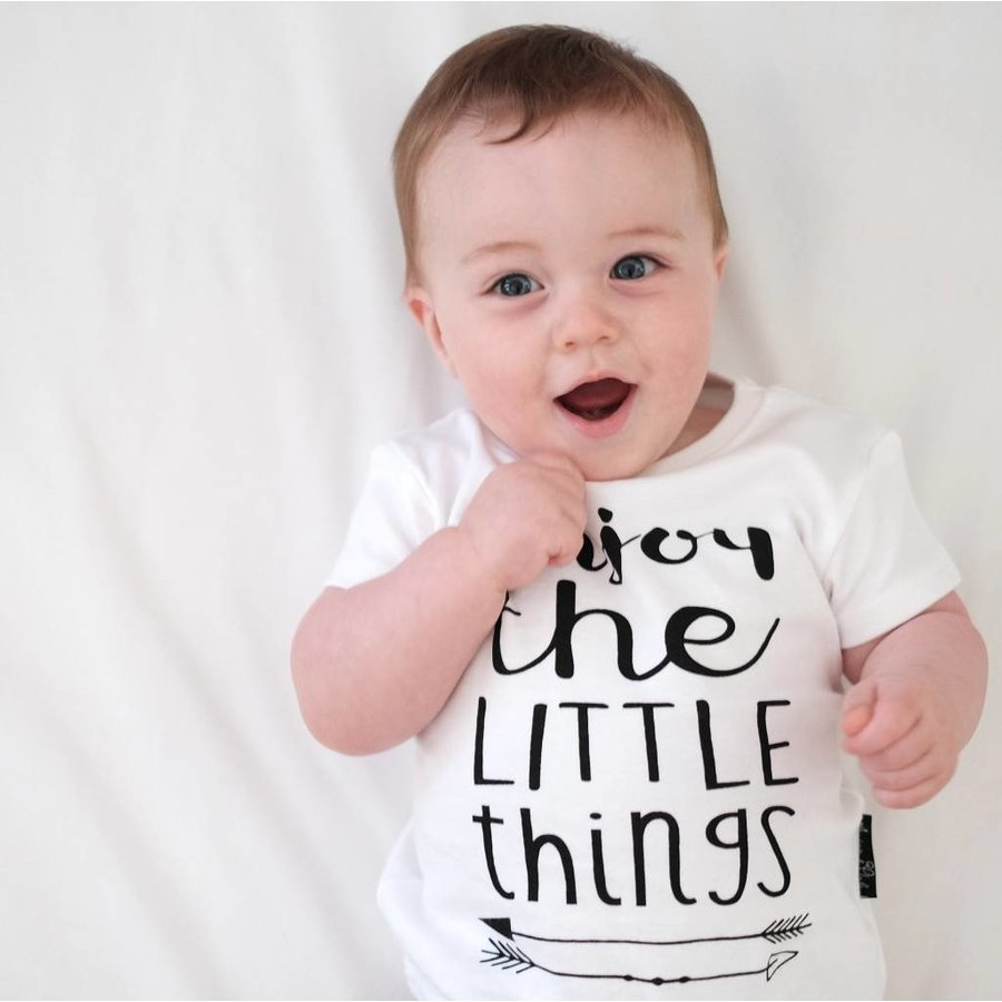 Aster & Oak T-shirt Enjoy The Little Things-2
