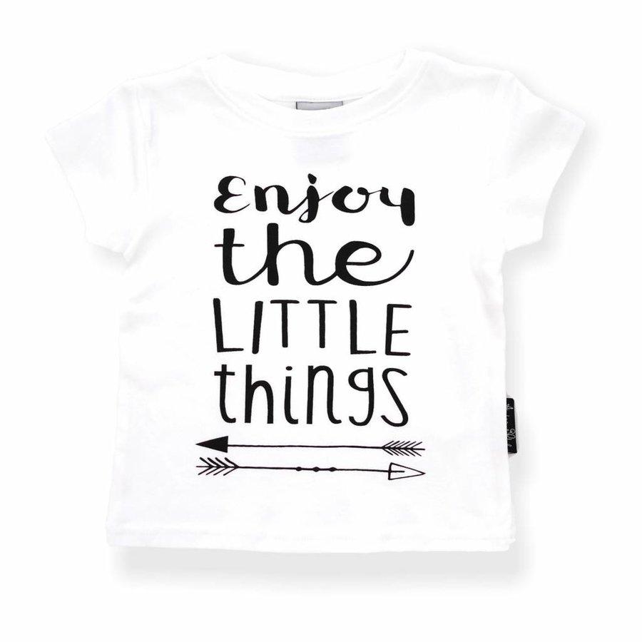 Aster & Oak T-shirt Enjoy The Little Things-1