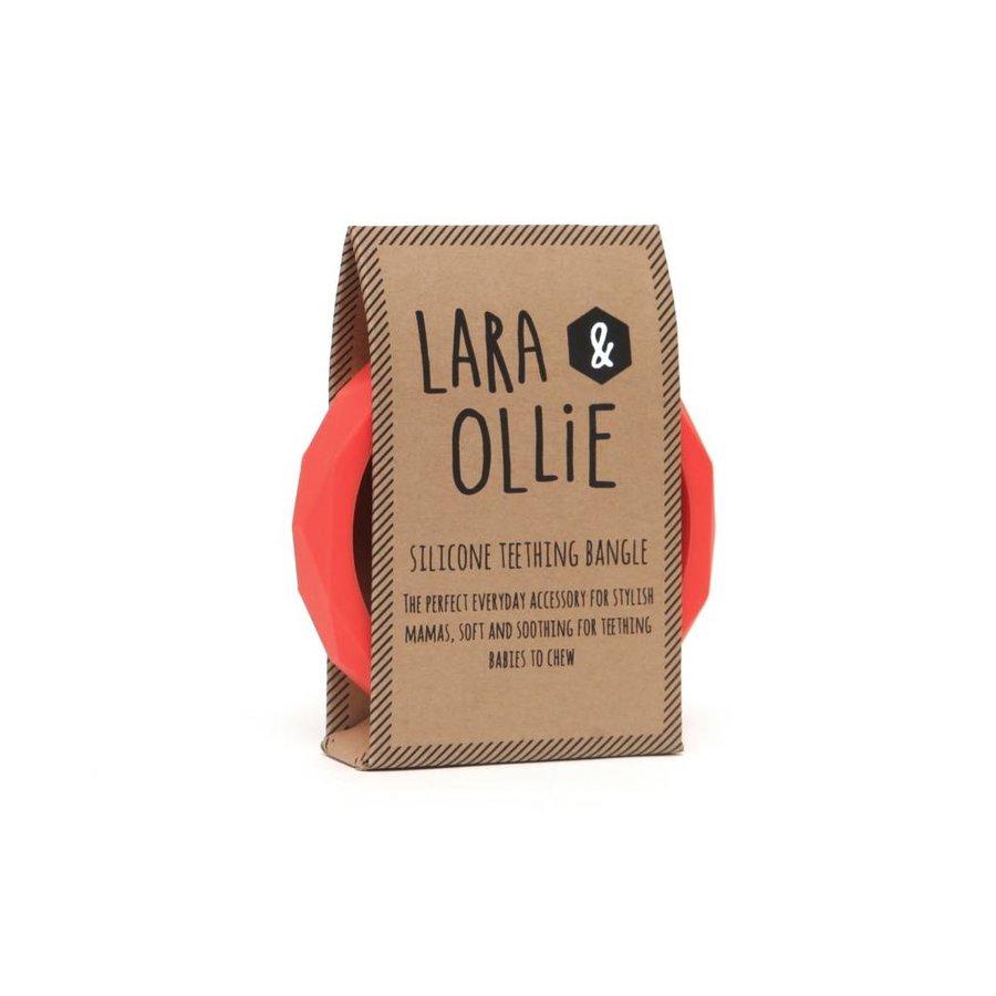 Lara & Olli Armband / Bijtring Koraal-2