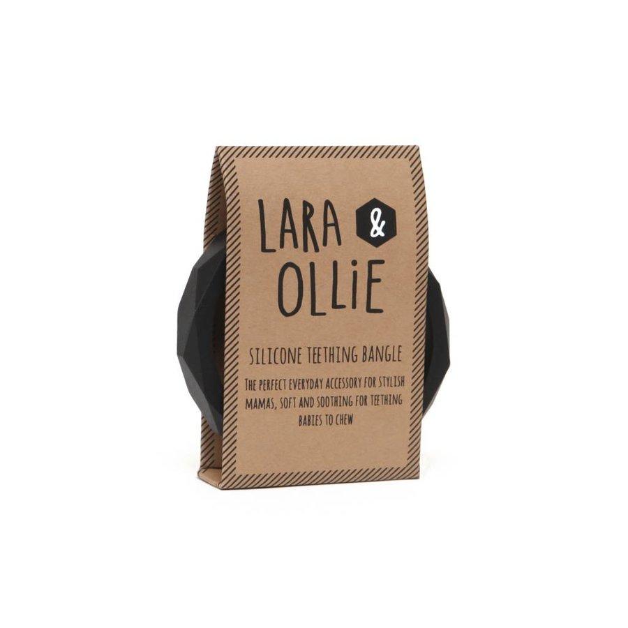 Lara & Olli Armband / Bijtring Zwart-2