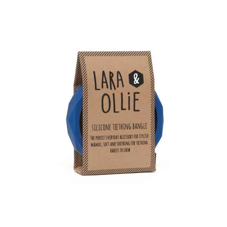 Lara & Olli Armband / Bijtring Denim-2