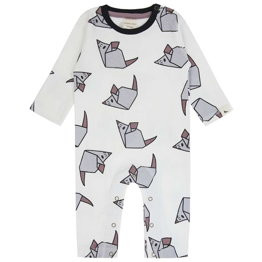 Turtledove London Origami Mouse Playsuit-1
