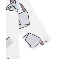 thumb-Turtledove London Origami Mouse Playsuit-5