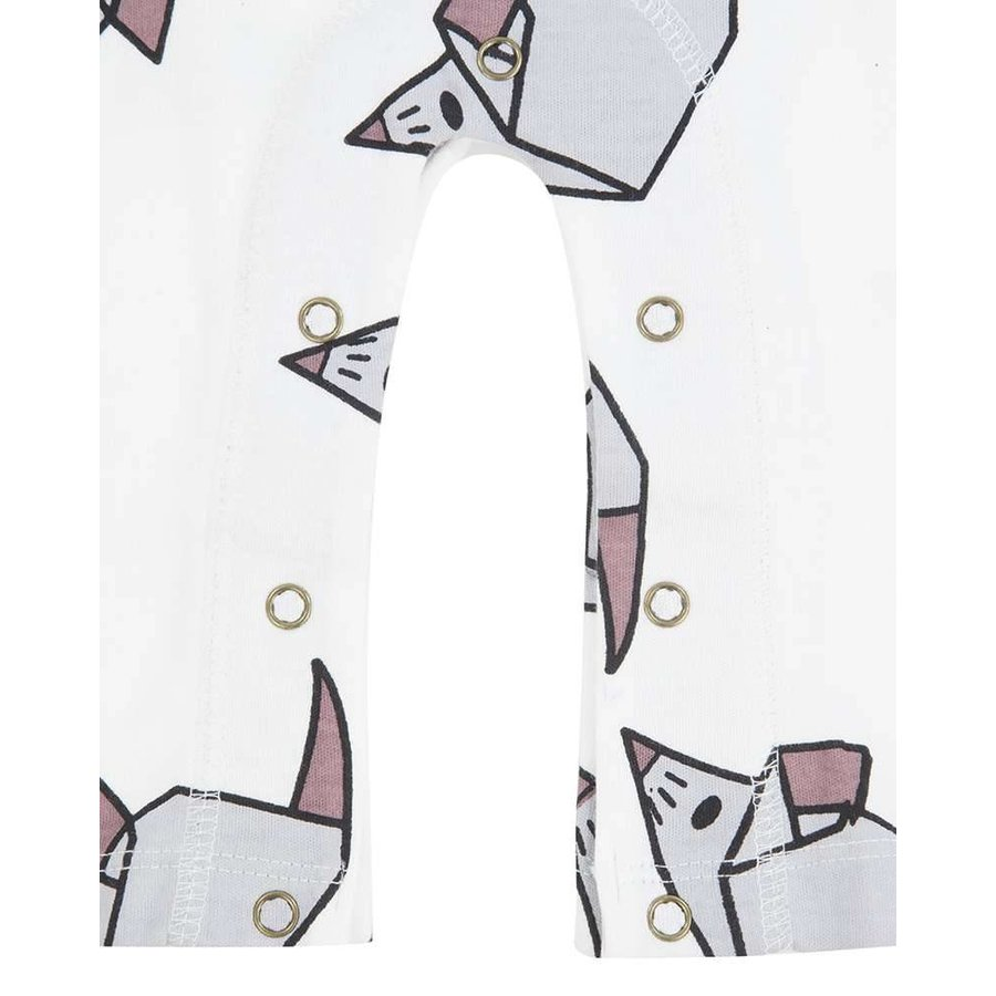 Turtledove London Origami Mouse Playsuit-6