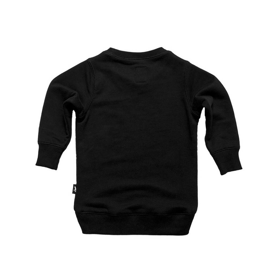 Tuli Bert Sweatshirt Angel Zwart-2