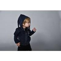 thumb-Tuli Bert Elf Hoodie Jasje Jeans Blauw-2