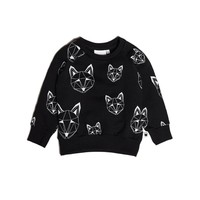 thumb-Tobias & The Bear Sweatshirt Just Call Me Fox Multi-1