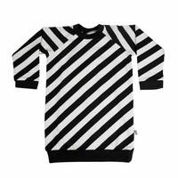thumb-CarlijnQ Sweater Jurk 'Electric Zebra'-1