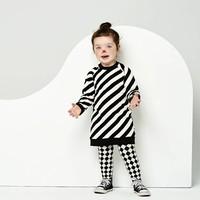 thumb-CarlijnQ Sweater Jurk 'Electric Zebra'-2