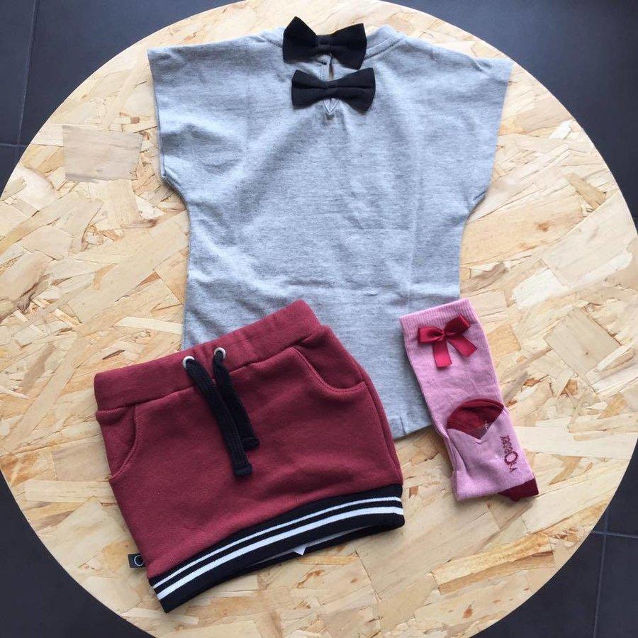 nOeser Sokken met Strik Roze-2
