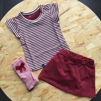 thumb-nOeser Sokken met Strik Roze-3
