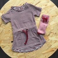 thumb-nOeser Sokken met Strik Roze-4