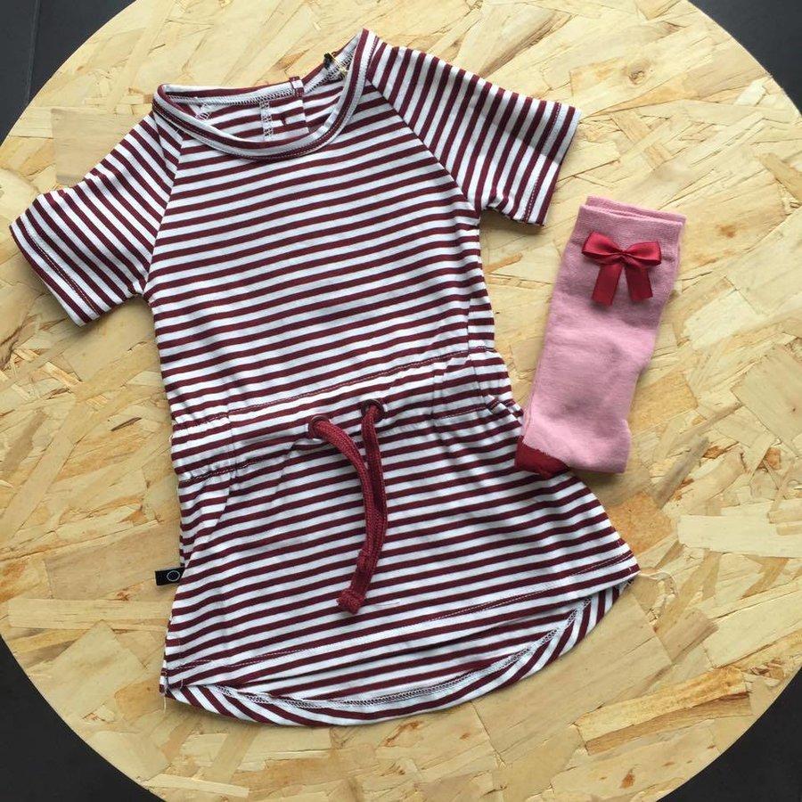 nOeser Sokken met Strik Roze-4