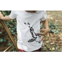 thumb-nOeser T-shirt Croco wit-2