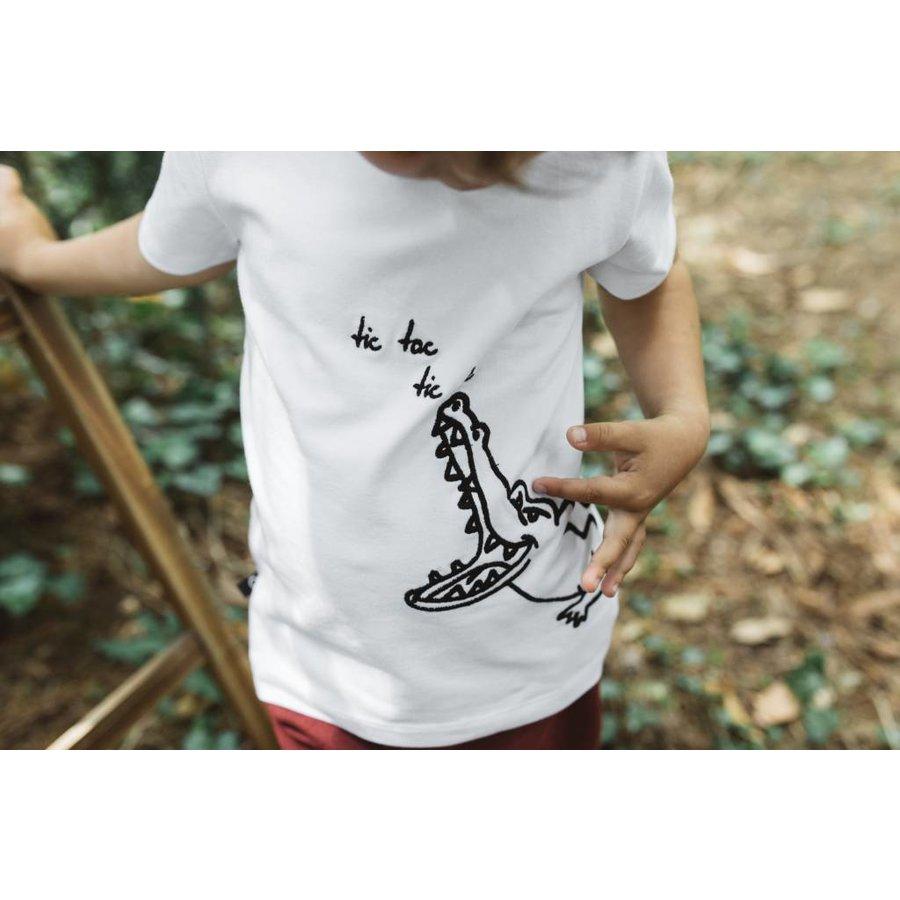 nOeser T-shirt Croco wit-2