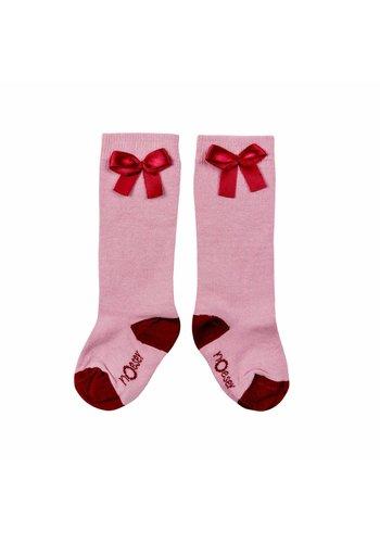 Sokken met Strik Roze
