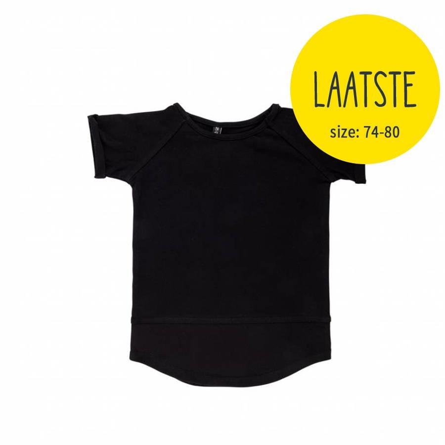 CarlijnQ Basic T-shirt Zwart-1