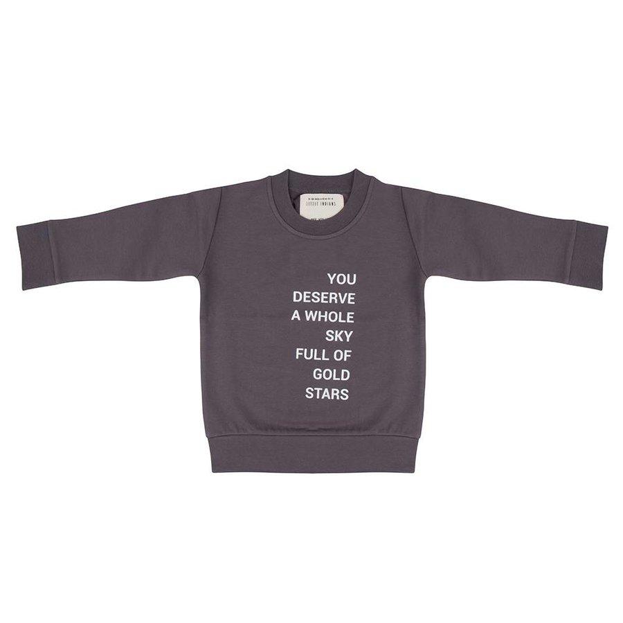 Little Indians Sweater Gold Stars Pavement-1