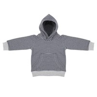 thumb-Little Indians Hoodie Striped-1