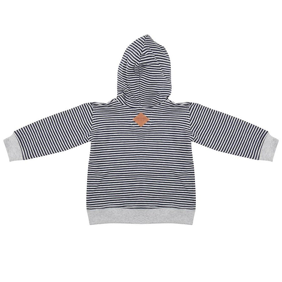 Little Indians Hoodie Striped-2