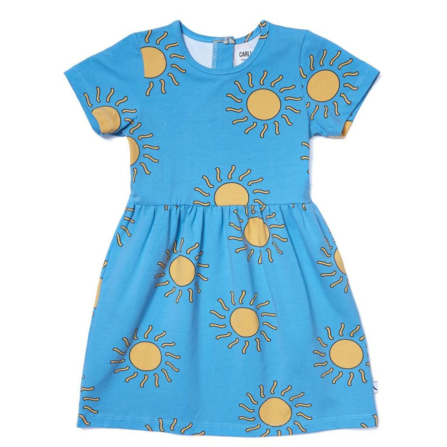 CarlijnQ - big sun - dress short sleeve-1
