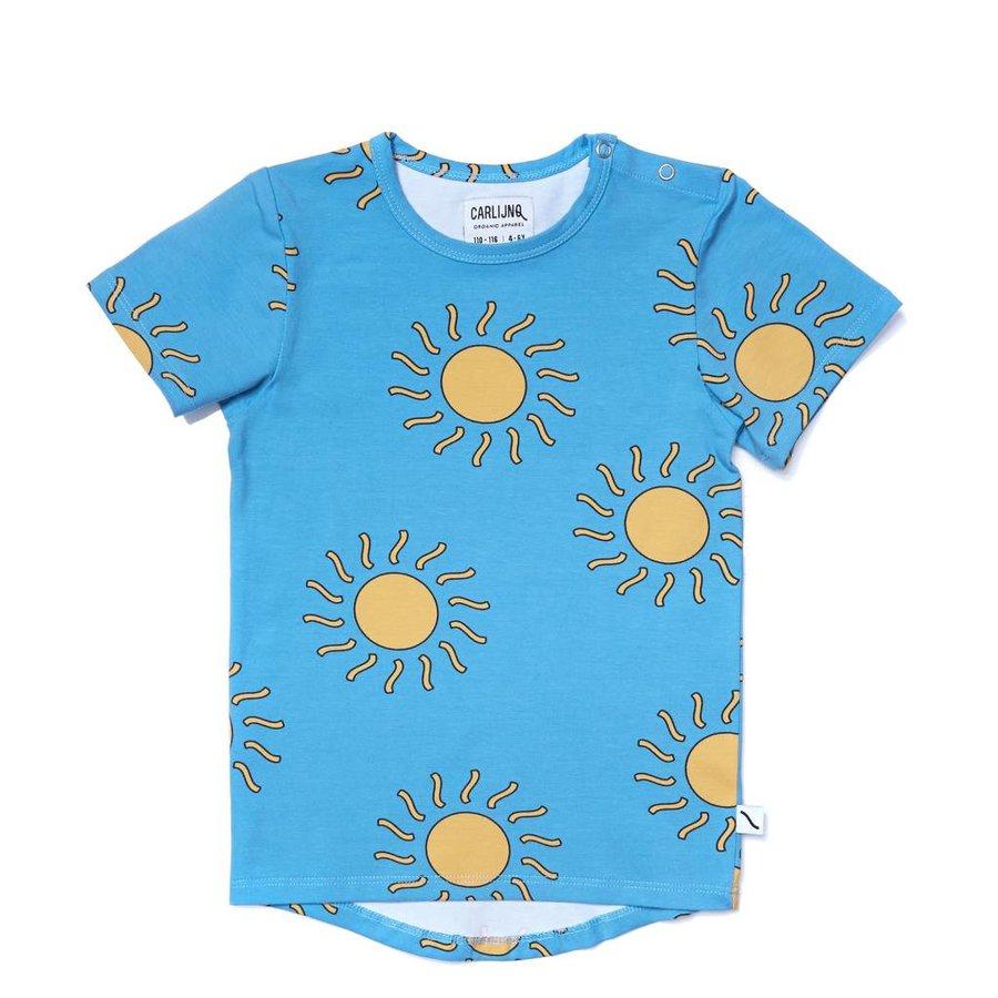CarlijnQ - big sun - t-shirt short sleeve drop back-1