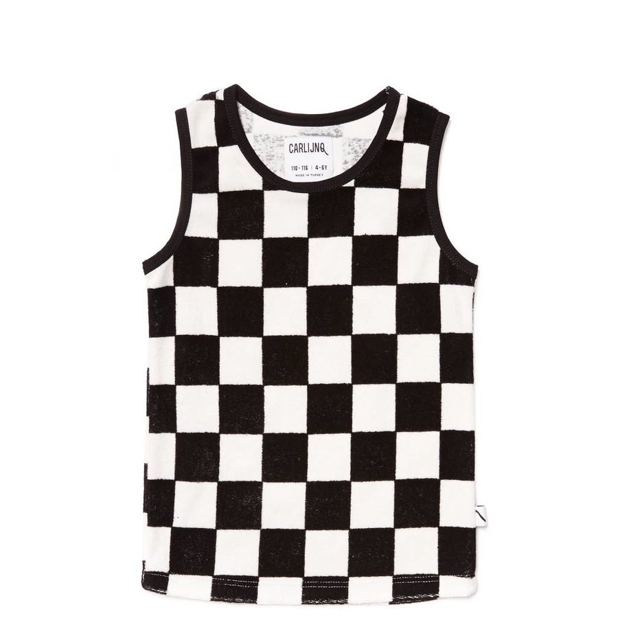 CarlijnQ - checkers - tanktop-1