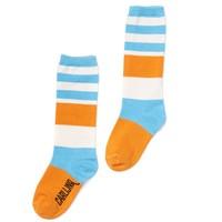 CarlijnQ - knee socks - blue / yellow