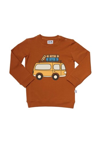 road trippin' - sweater with van