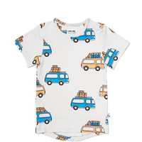 thumb-CarlijnQ - road trippin' - t-shirt short sleeve drop back-1