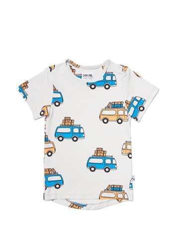 road trippin' - t-shirt short sleeve drop back