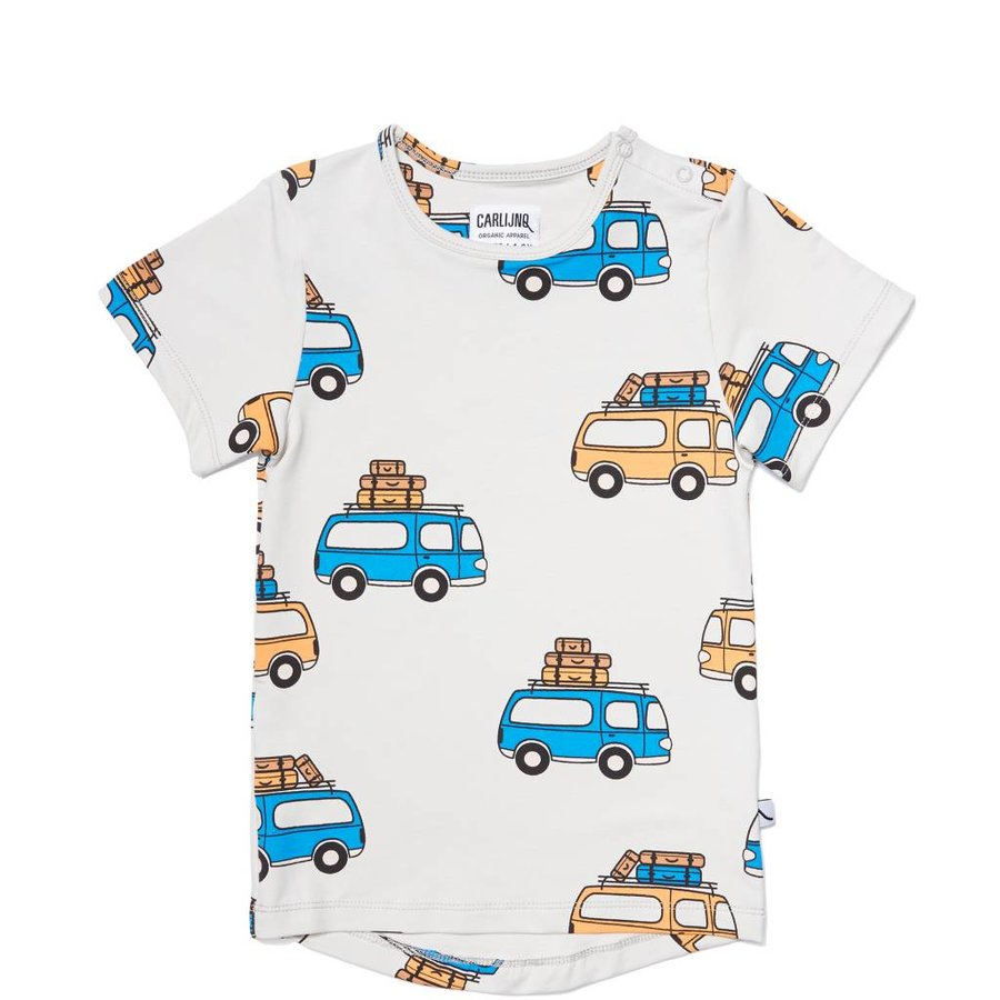 CarlijnQ - road trippin' - t-shirt short sleeve drop back-1